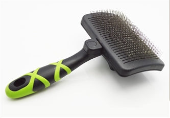 HelloPet USA - Large Self-Cleaning Slicker Brush