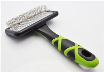 HelloPet USA - Small Slicker Brush - 9GreenBox