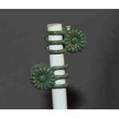 Daisy Plant Clips, Medium Green, 1 Dozen