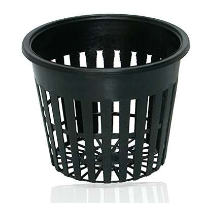 9GreenBox - 3 Inch Round Orchid/Hydroponics Slotted Mesh Net Pot - 20 Pack - 9GreenBox