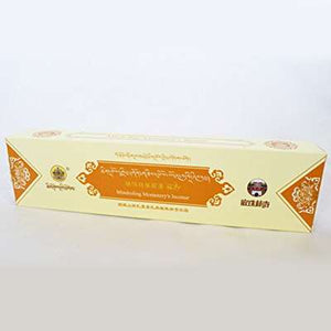 MINDROLING GRADE 1 INCENSE STICKS - 2 x 50 Sticks Pack - Total 100 Sticks