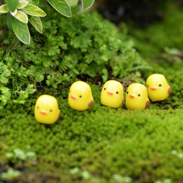5Pcs / Set Kawaii Mini Animals Garden Decor - 9GreenBox