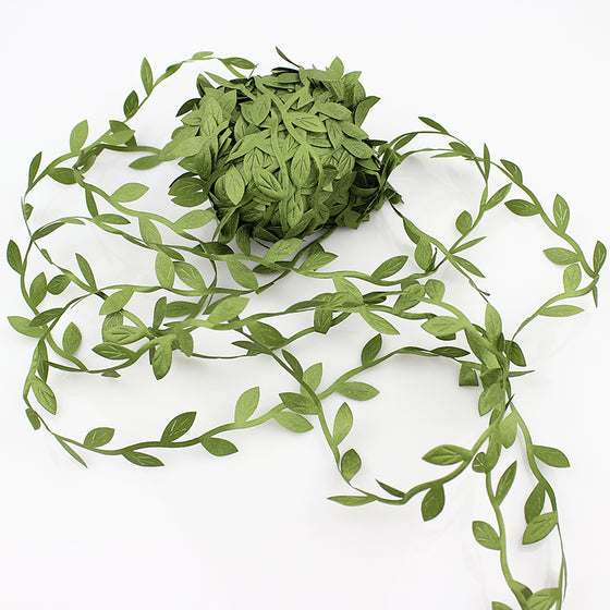 20 meters Artificial Green Flower Leaves Rattan - 9GreenBox