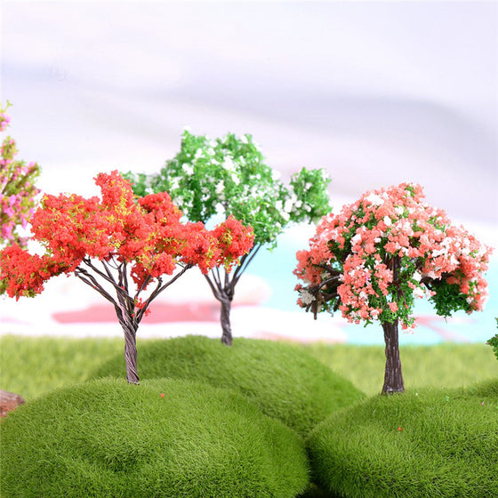 4 Pcs/Set Mini Tree Fairy Garden - 9GreenBox