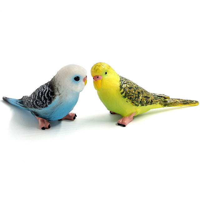 Simulation mini Parrot figurine - 9GreenBox