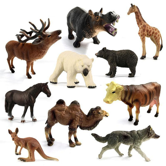 Assorted Animal model figurine - 9GreenBox
