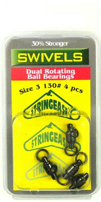 Dual Rotating Ball Bearing Swivels