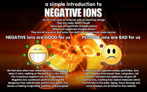 Negative ions create positive vibes