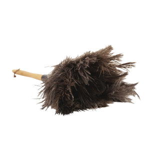 "Plumeau Ostrich Feather Duster 26"" Long All-Natural"