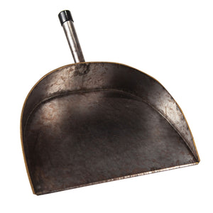 Extra Wide Aged Vintage Copper Dust Pan