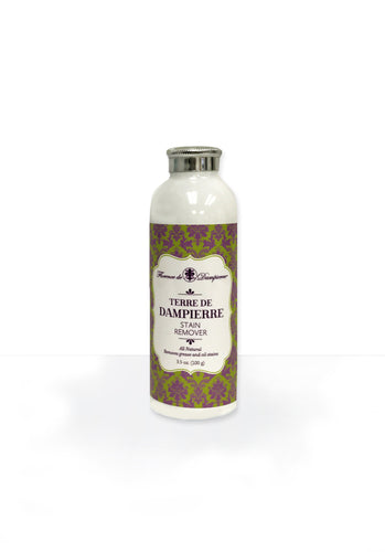 Terre De Dampierre All-Natural Dry Stain Remover for non-water washable materials Silk, Leather, Suede