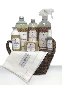 "Florence de Dampierre's Signature ""French Flair"" 8-piece Home Care Basket"