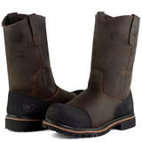 PW 11.5'' Leather Composite Toe Waterproof Wellington Work Boot