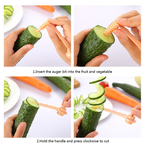 Carrot and Potato Spiral Cutting Slicer Kitchen Tools