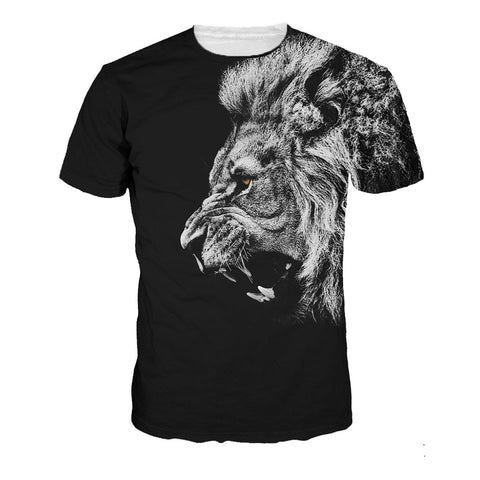 Cat / Kitten 3D Print Animal T-Shirt