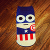 Image of 36-43 Socks Ninja Batman Superman SpiderMan Captain America Avengers