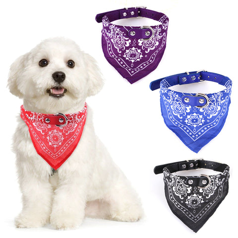 Fashionable Scarf Collar necktie for Dogs
