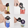 Image of 5 In 1 Hot Sale Multi-fuctional All In One Opener Bottle Opener Jar Can Kitchen Manual Tools Accessories Multifunction