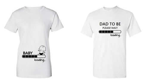 Pregnancy  Baby Loading Dad To Be Shirt