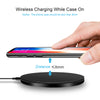 Image of DCAE Qi Wireless Charger For iPhone 8/8Plus/X QC3.0 10W Fast Wireless Charging for Samsung S9/S8/S8+/S7/S6 Edge USB Charger Pad