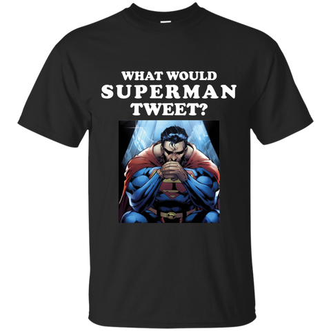 What Would Superman TWEET?