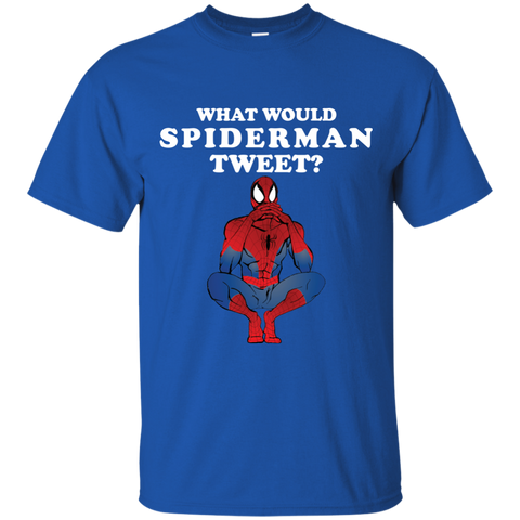 What Would Spiderman Tweet