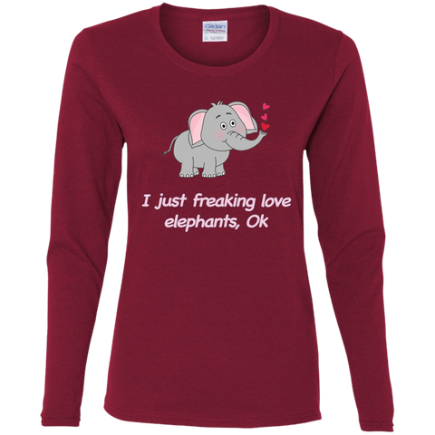 Freaking Love Elephants T-shirts