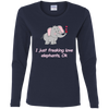 Image of Freaking Love Elephants T-shirts