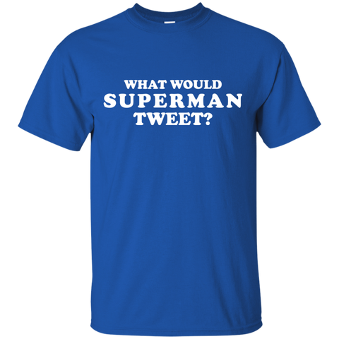 What Would Superman Tweet