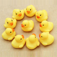 Rubber Duckie Baby Shower  Toys (12pcs)