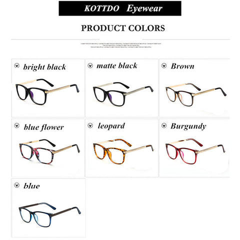Retro Reading Eyeglasses Frame For Men