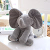 Image of Musical Peek-A-Boo Elephant Stuffed Toy