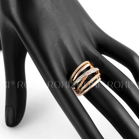 Classic Band Rose Gold Ring