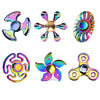 Image of Rainbow Ferris Wheel Polar Lights Fidget Tri Hand Spinner Fidget Finger Spiner