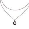 Image of New Fashion Double Necklace Crescent WATER DROP Necklace Boho Jewelry