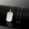 Image of Army Dog Tag Stainless Steel Necklace