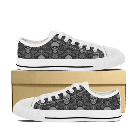 Men's Skull N Bones Low Top Shoes