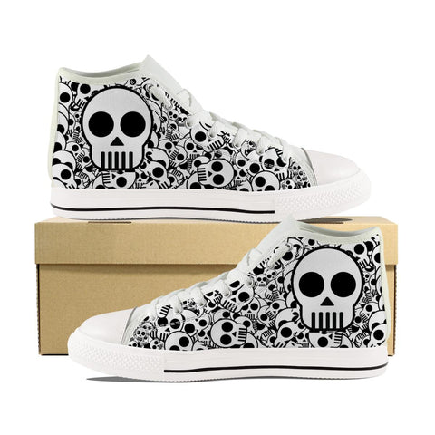 Men's Power Skull V1 High Top Shoes