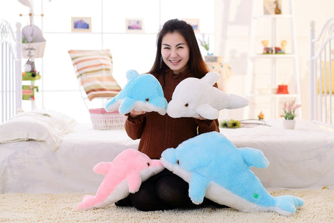 Cute Light Up Dolphin Stuffed Toy