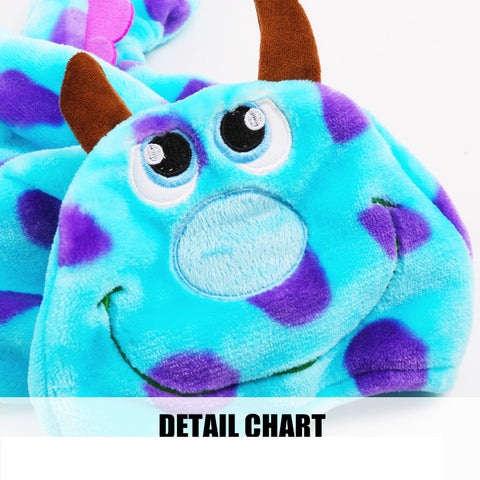 Blue Dragon Costume for Small Dogs and Cats