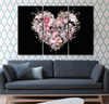 Image of Skulls Embrace Wall Art
