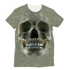 Image of 3D Skull T-Shirt Front and Back