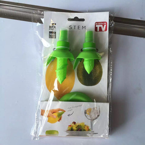 2Pcs/set Home Kitchen Fruit Juice Sprayer