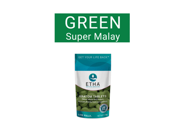 Best Kratom For Pain Pain Relief With Etha Green Vein Malay