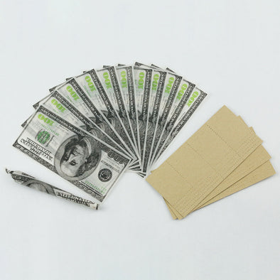 O5 - $100 DOLLAR BILL  PAPER 1 BOX - 12CT