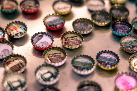 Happy Gardens - Bottle Caps