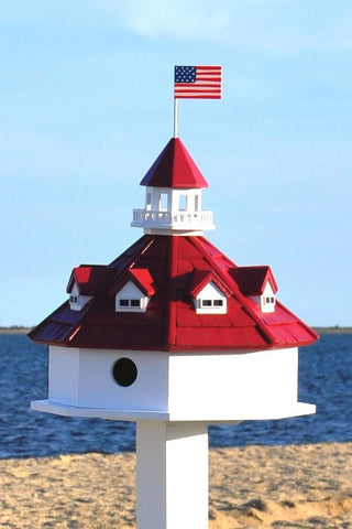 Happy Gardens - Chesapeake Bay Lighthouse Bird House