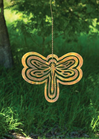 Happy Gardens - Cutout Dragonfly Hanging Ornament