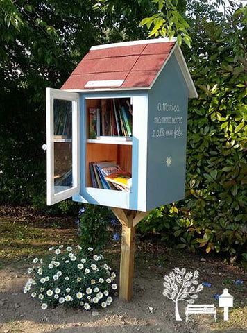 Happy Gardens - DIY Free Little Library