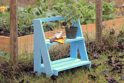 Happy Gardens - DIY Garden Shelf